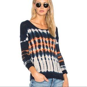Soft Joie Long Sleeve Tie Dye Hilma Sweater